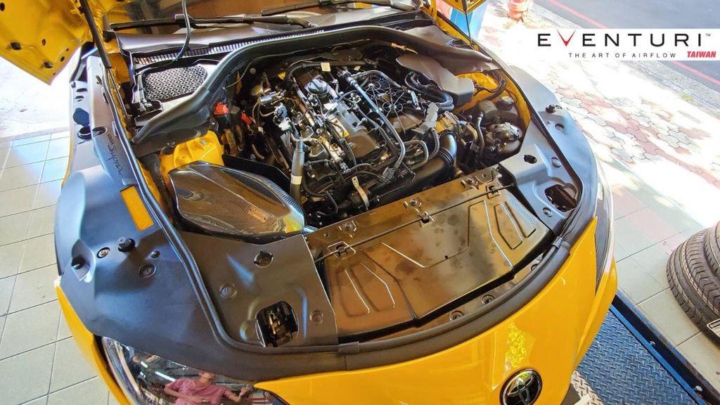TOYOTA A90 SupraEVENTURI 碳纖維進氣intake系統真便宜汽車精品百貨左營大中店