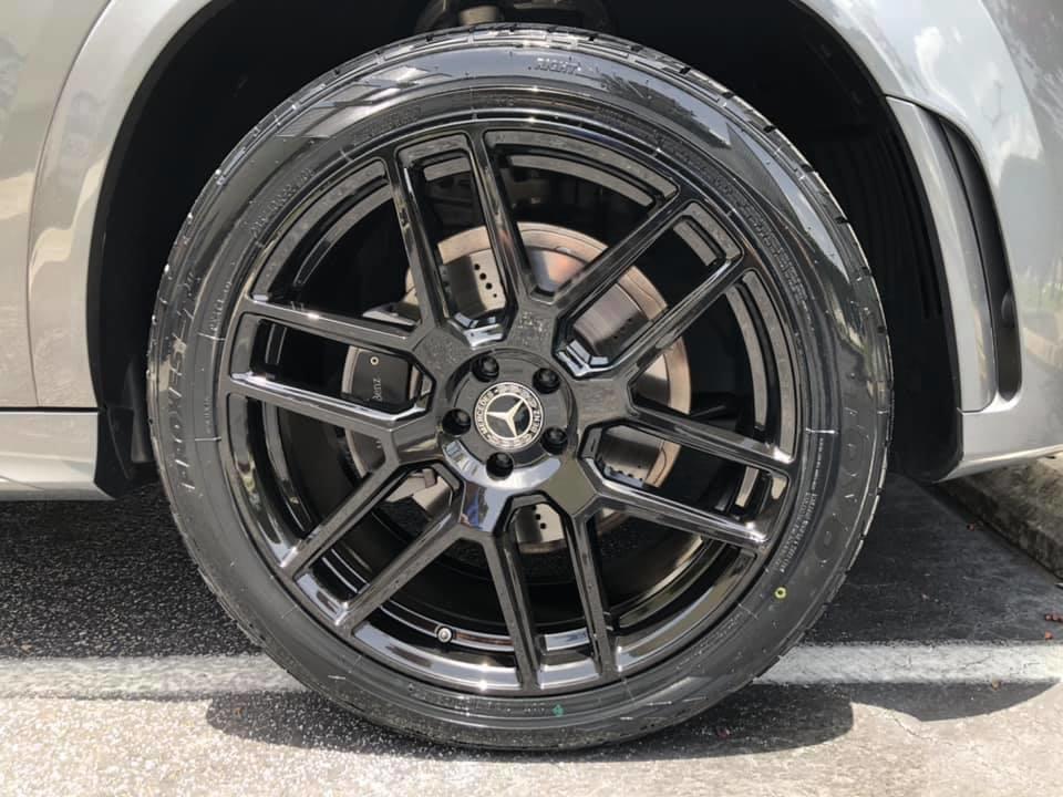 Mercedes GLE350 22x10 鋁圈