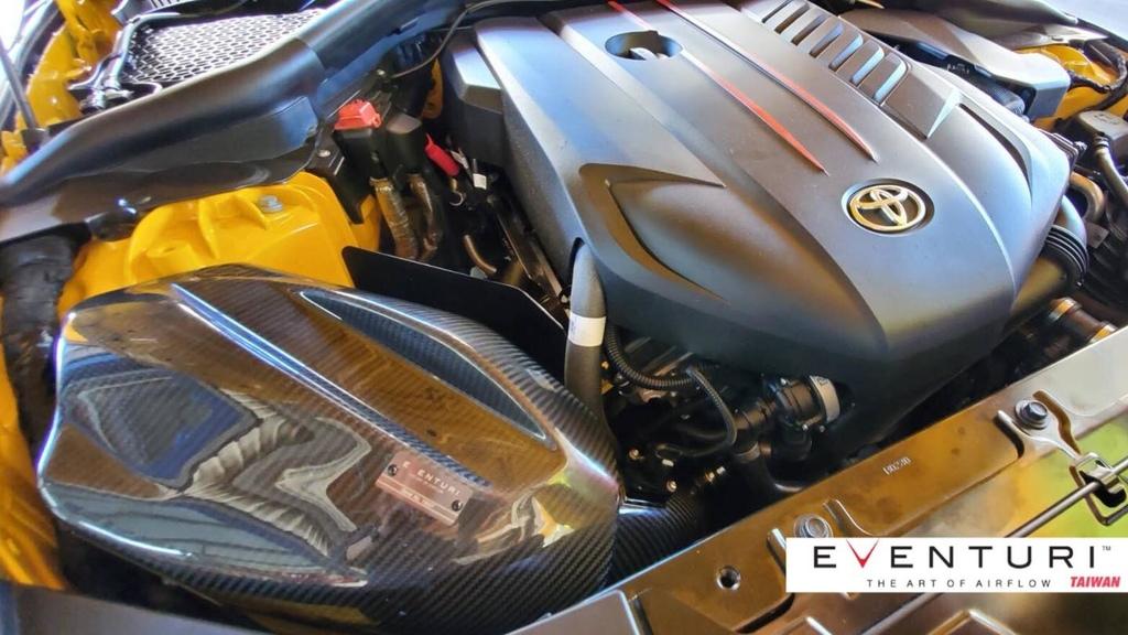 A90 SUPRA 碳纖維集氣箱