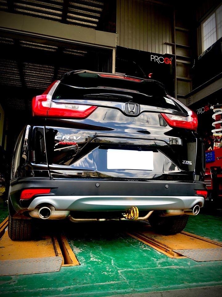 Honda CR-V 5代升級PROGi德式倒插避震器