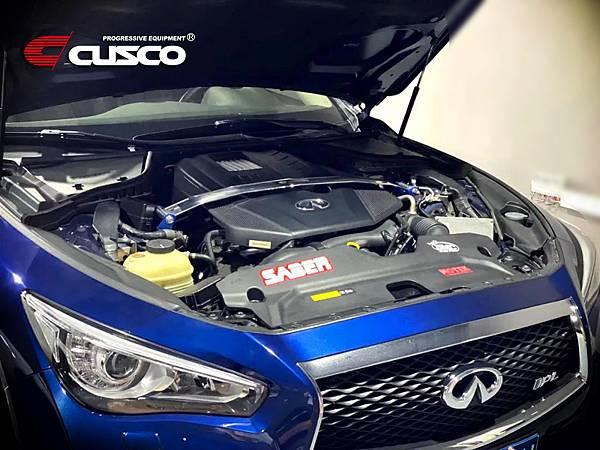 INFINITY Q50 升級 CUSCO CN全車底盤拉桿