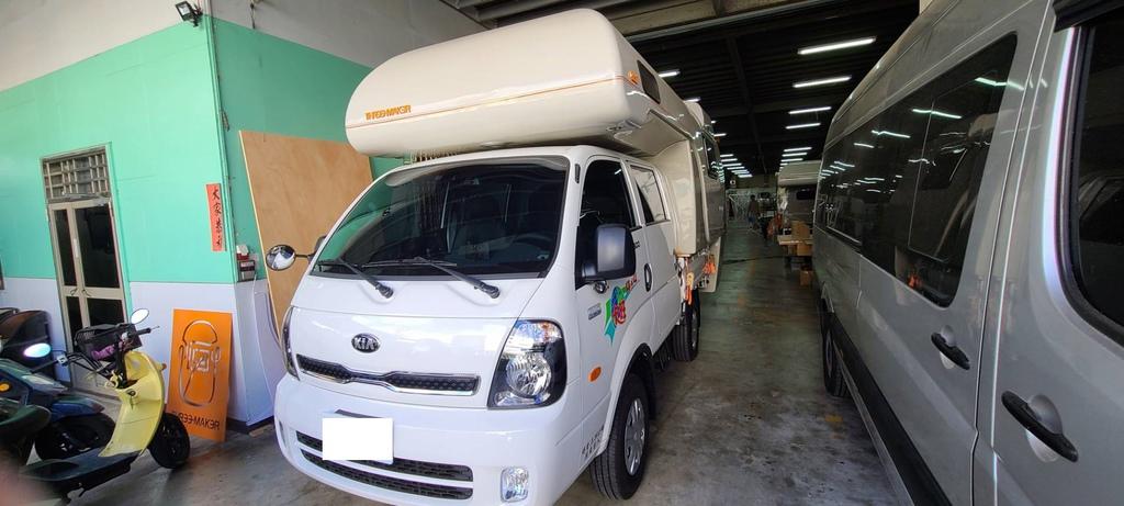 卡旺4WD野營車底盤大升級💯 貨車改造成野營車