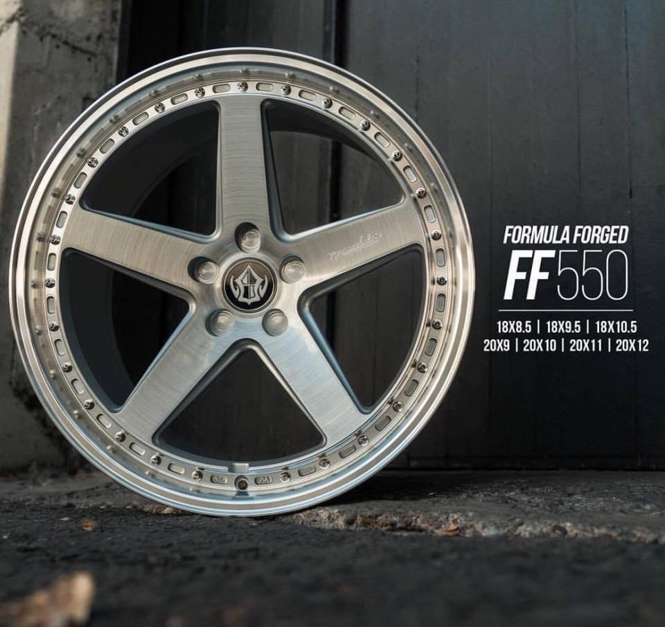FF550 旋壓鋁圈