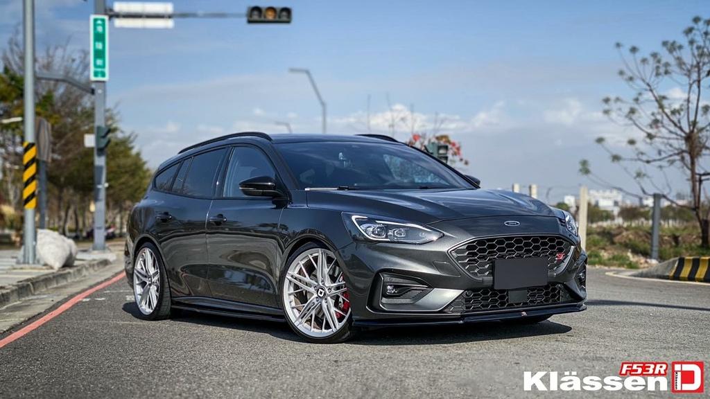 Focus mk4 ST wagon 選  Klassenid®🇺🇸F53r鋁圈  搭米其林性能胎安裝案例