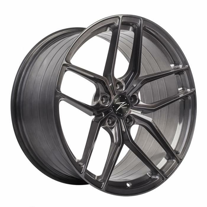 Z-Performance®ZP2.1  德國品牌歐規認證  20x9+20x10.5  亮澤全髮線灰透 旋壓輕量製程  for BMW G20 G30