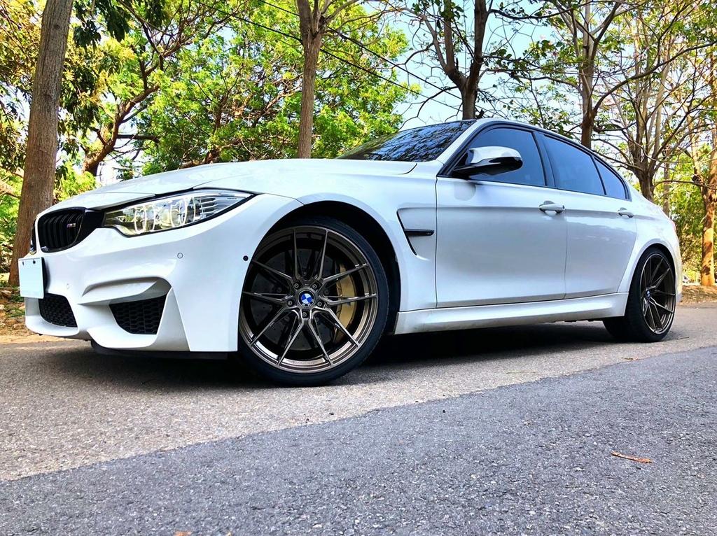 """BMW F80 M3搭上 VERTINI🇺🇸®RFS1.8 髮線古銅金 20""""前後配立刻帥度破表"""