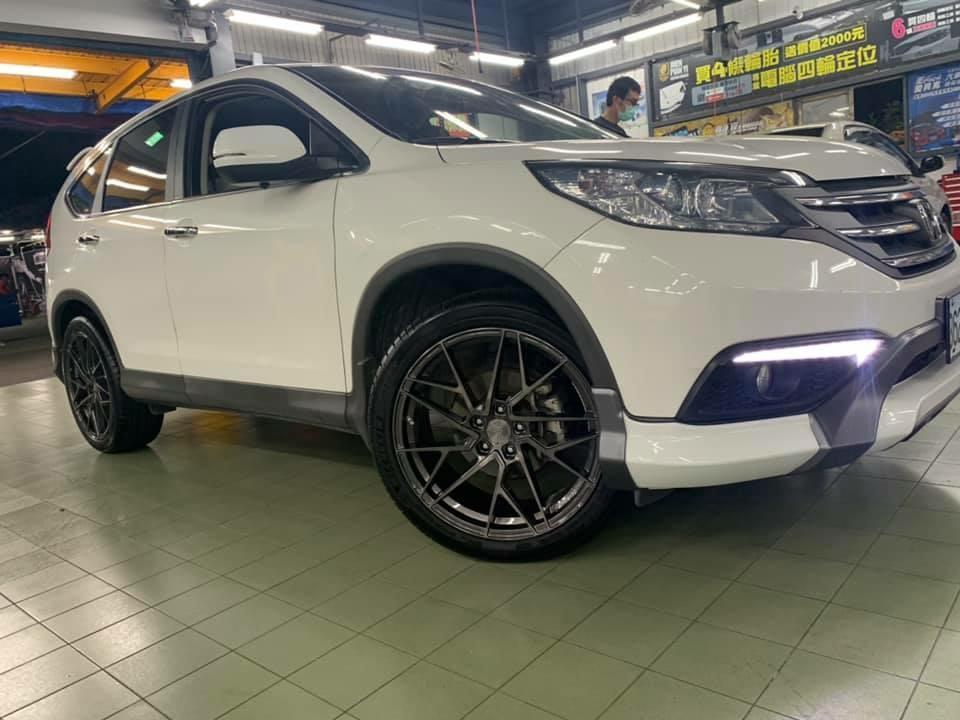 CRV 升級MS01 20吋旋壓鋁圈 搭配米其林PS4 SUV 235/45/20輪胎