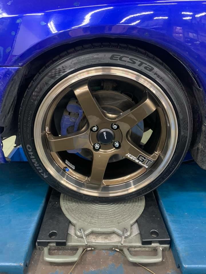 LANCER 直上17吋GT鋁圈搭配錦湖PS71
