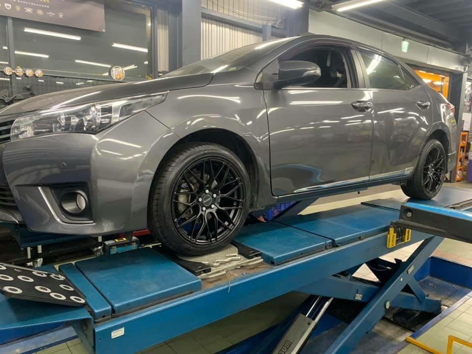 ALTIS選VERRO鋁圈 搭配固特異F1A5輪胎