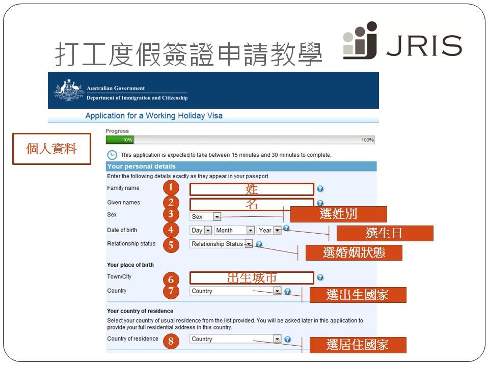 澳洲打工度假簽證