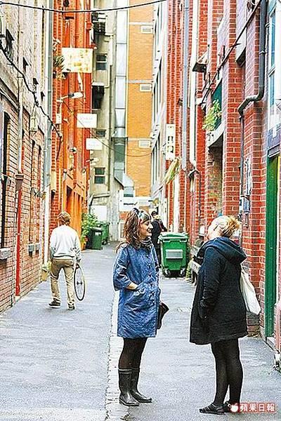 穿街走巷墨爾本