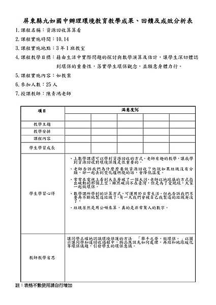屏東縣九如國中辦理環境教育教學成果.數學科-1.jpg