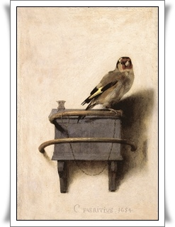 〈The Goldfinch〉Carel Fabritius