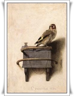 〈The Goldfinch〉Carel Fabritius