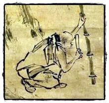 六祖伐竹圖