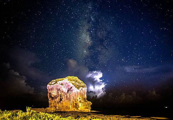 帆船石銀河