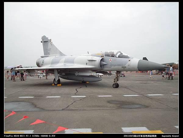 20111015岡山空軍基地-F16與幻象2000V01.JPG