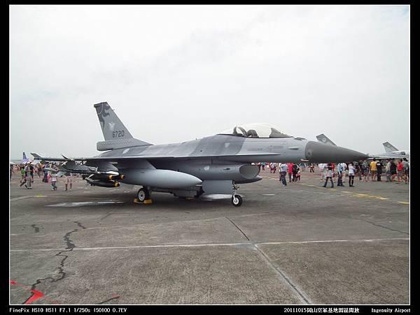 20111015岡山空軍基地-F16與幻象2000V03.JPG