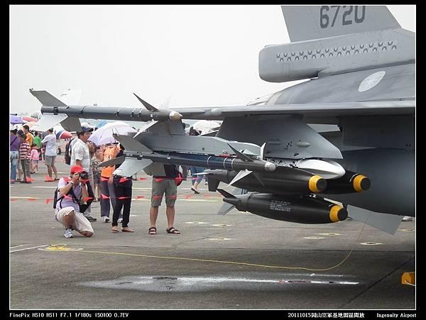 20111015岡山空軍基地-F16與幻象2000V04.JPG
