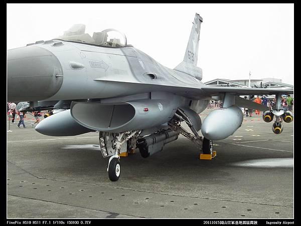 20111015岡山空軍基地-F16與幻象2000V11.JPG