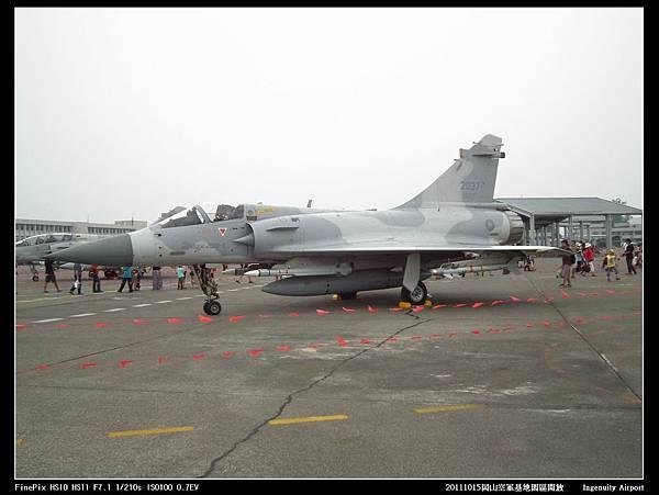 20111015岡山空軍基地-F16與幻象2000V14.JPG