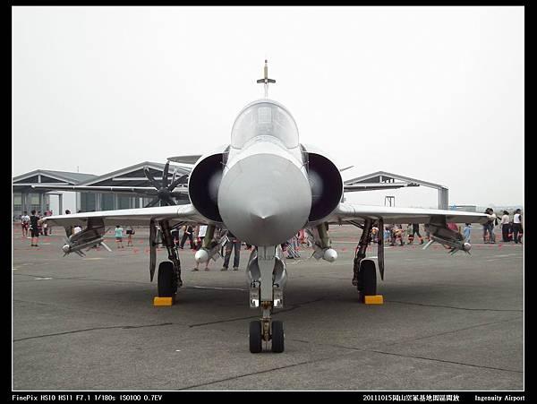 20111015岡山空軍基地-F16與幻象2000V16.JPG