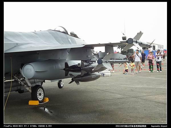 20111015岡山空軍基地-F16與幻象2000V20.JPG