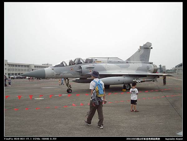 20111015岡山空軍基地-F16與幻象2000V21.JPG