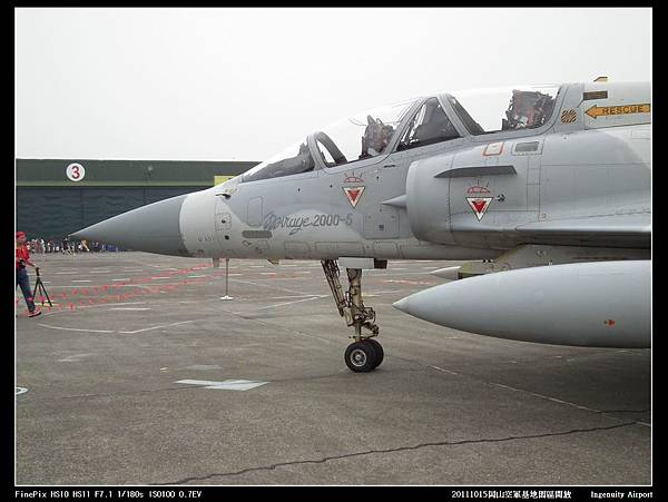 20111015岡山空軍基地-F16與幻象2000V23.JPG