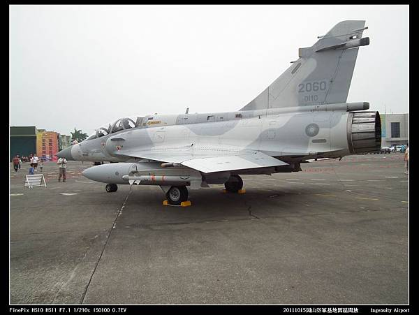 20111015岡山空軍基地-F16與幻象2000V24.JPG