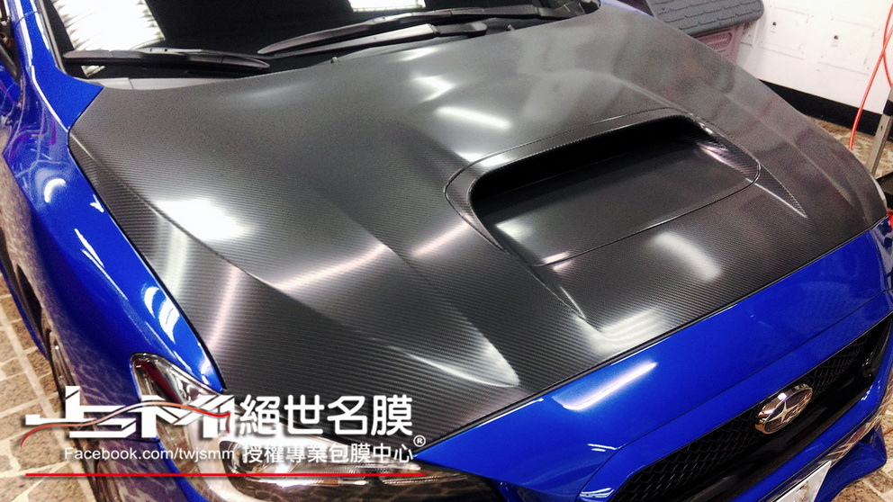 SUBARU WRX 引擎蓋 大格4D卡夢2.jpg