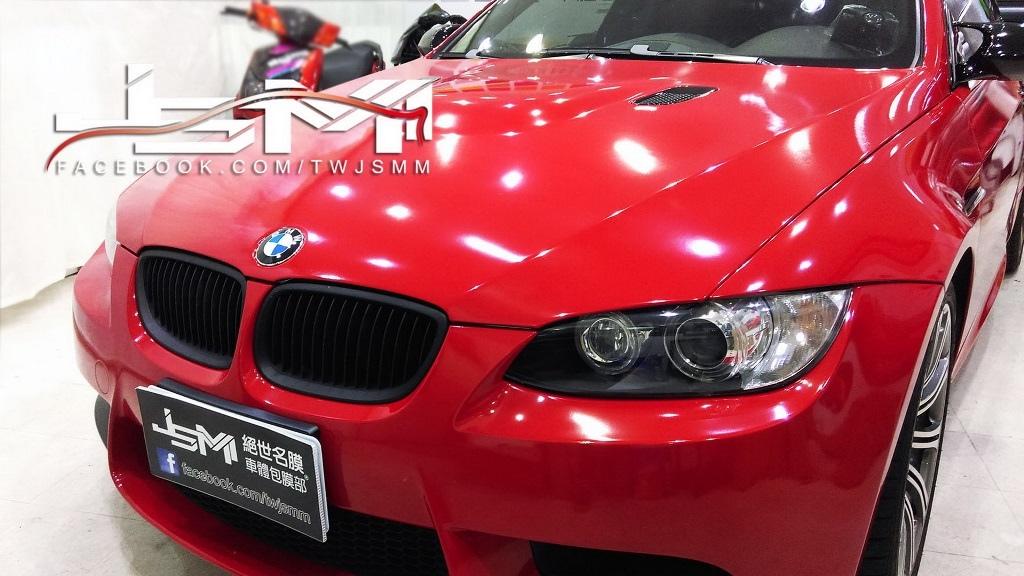 M3 全車改色 法拉利紅4