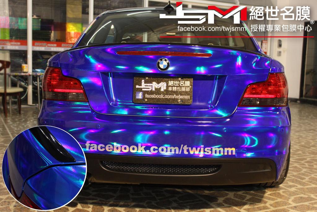 BMW135i全車雙色雷色電鍍膜+彩繪 (12).jpg
