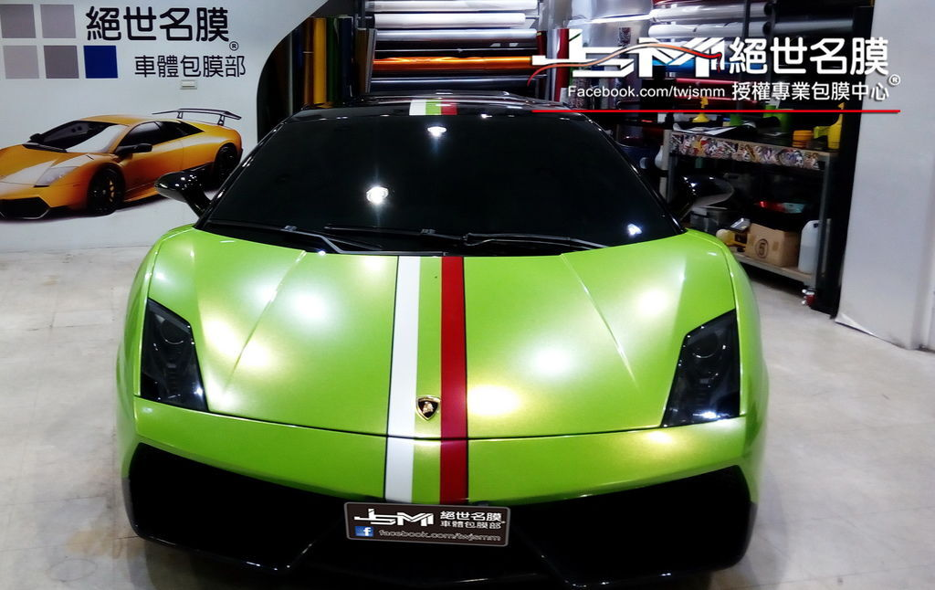 1040927-藍寶堅尼 LP 560 全車改色金屬糖衣 (3).jpg