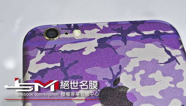 1040617iPhone6 Plus(金) 改迷彩紫 (3).JPG