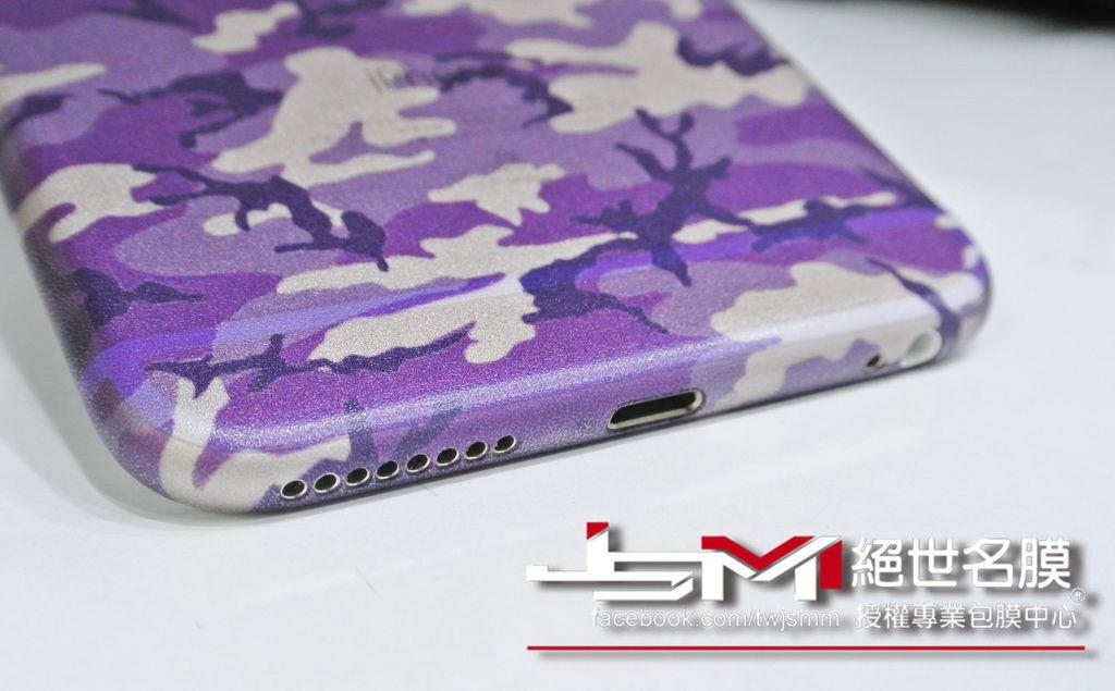 1040617iPhone6 Plus(金) 改迷彩紫 (4).JPG