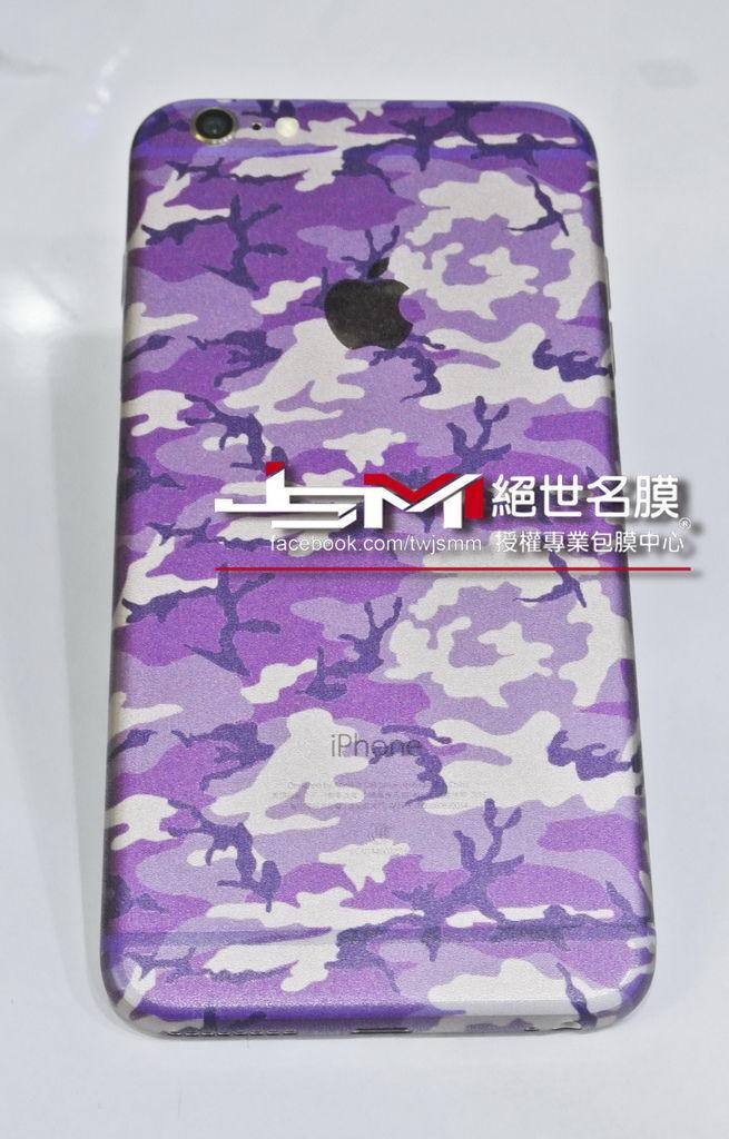 1040617iPhone6 Plus(金) 改迷彩紫 (2).JPG