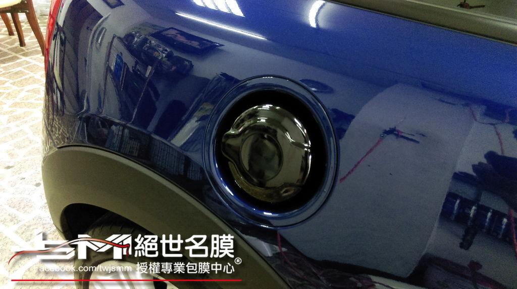 1040629-MINI COOPERS藍局部包膜 氣壩+手把+油箱+頭燈外框 (6).jpg