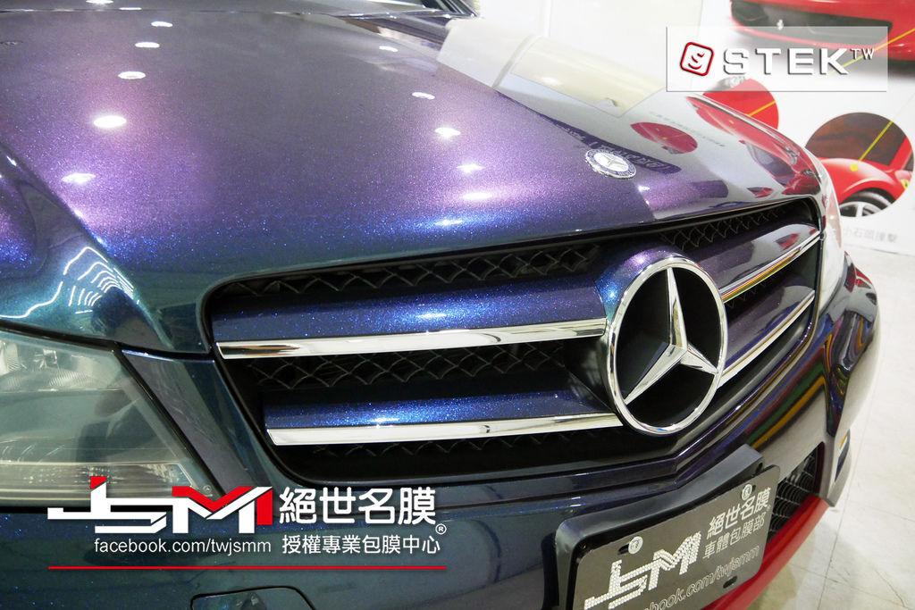 (STEK)_1061100-Benz C250-全車改色-STEK變色.JPG