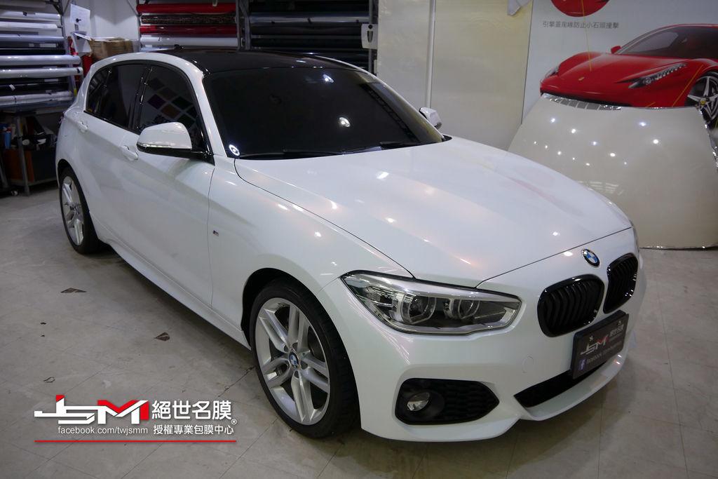 1061003-BMW 120i變色珍珠白+車頂亮黑-P1050203.JPG