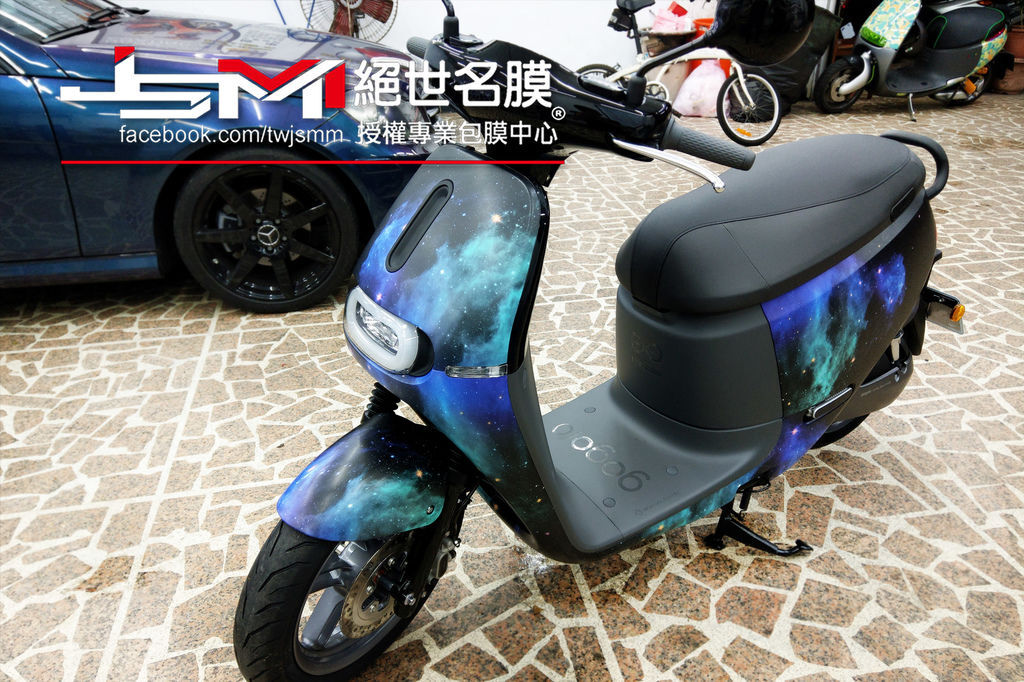 gogoro 2 - 全車彩繪 【星空 Galaxy】(10)1070301.jpg