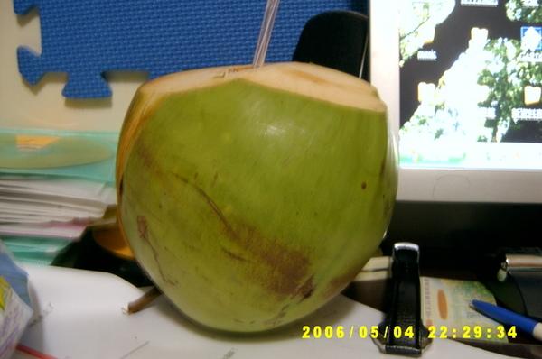 莫名奇妙的椰子汁.JPG