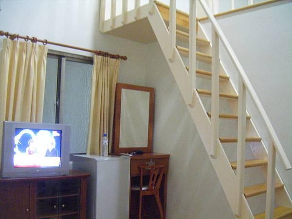 很滑的樓梯