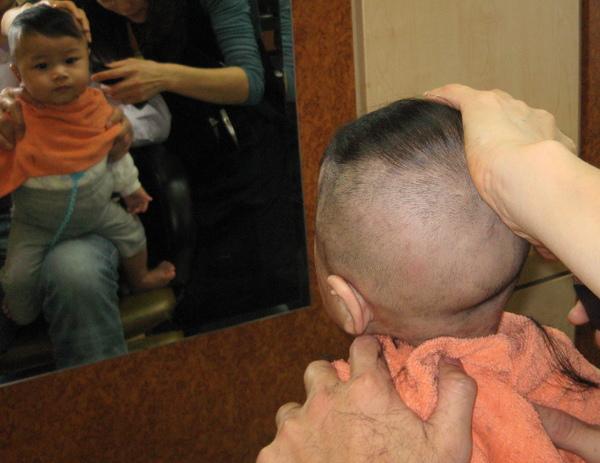 波堤剪頭髮2