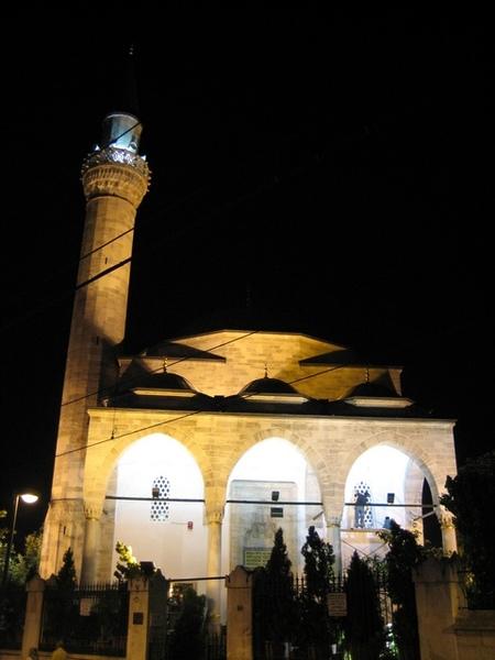 夜晚的清真寺