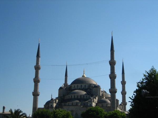 大名鼎鼎的藍色清真寺