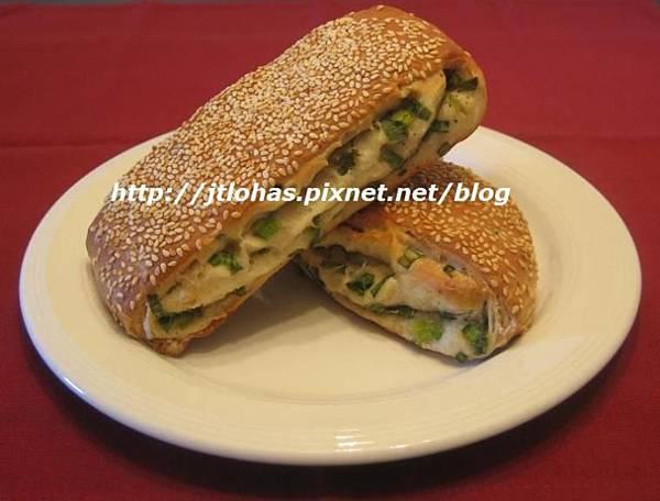 芝麻蔥燒餅與蔥花山藥餅-1