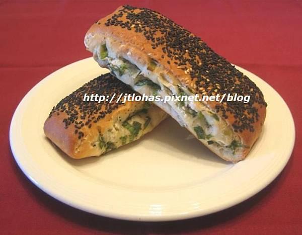 芝麻蔥燒餅與蔥花山藥餅-2