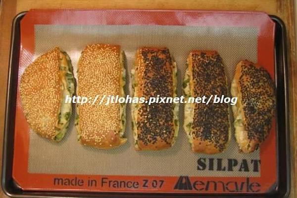 芝麻蔥燒餅與蔥花山藥餅-3