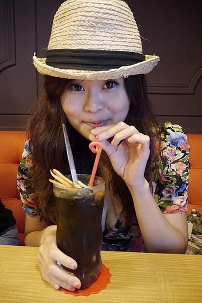 蔓越莓醋飲-咖啡癮-2014.6.7.JPG